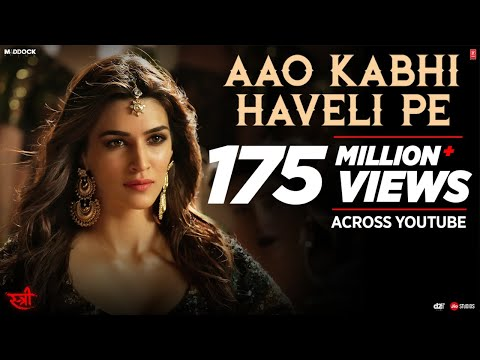 Aao Kabhi Haveli Pe Video | STREE |  Kriti Sanon | Badshah,