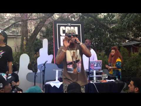 Cam'ron Get Em' Girl at SXSW Complex Magazine Show Case