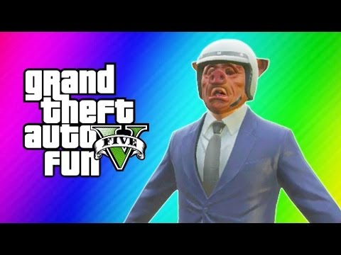 Thumbnail: GTA 5 Online Funny Moments - Banana Bus, Derk, Mannequin Glitch, Gmod Stiffy Squad, Levitation!