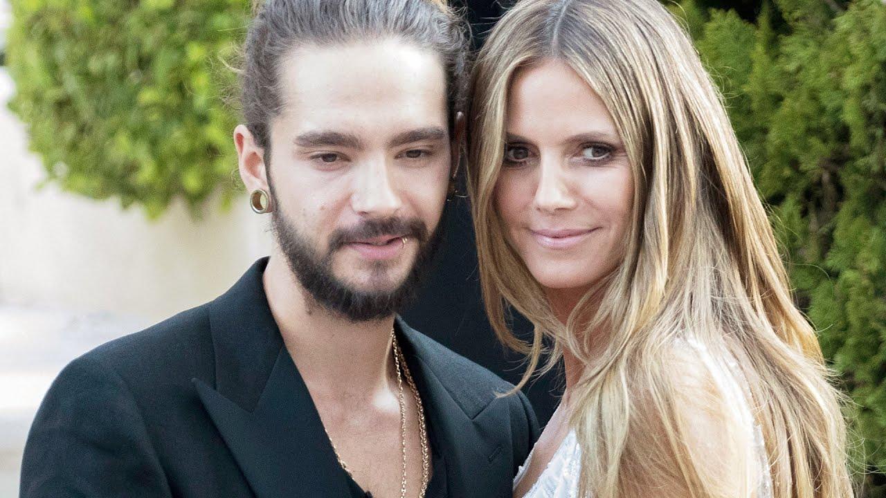 Heidi Klum Tom Kaulitz Halbnackt Mit Verwuschelten Haaren