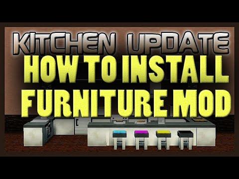 how to add mrcrayfish furniture mod to minecraft