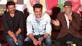 Poster Boys Movie Trailer Launch Full Video HD - Dharmendra,Sunny Deol,Bobby Deol,Shreyas Talpade