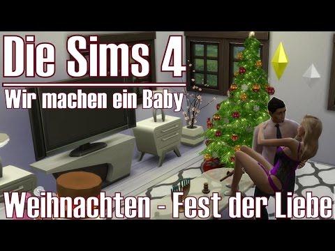die sims 4 weihnachten fest der liebe wir machen ein. Black Bedroom Furniture Sets. Home Design Ideas