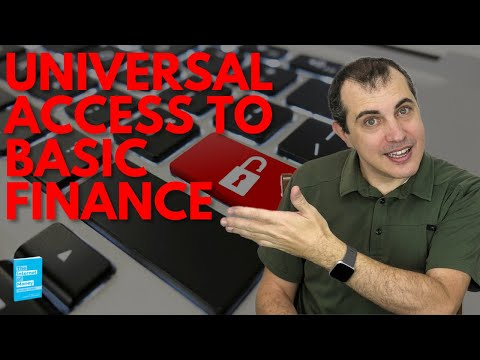 Universal Access to Basic Finance