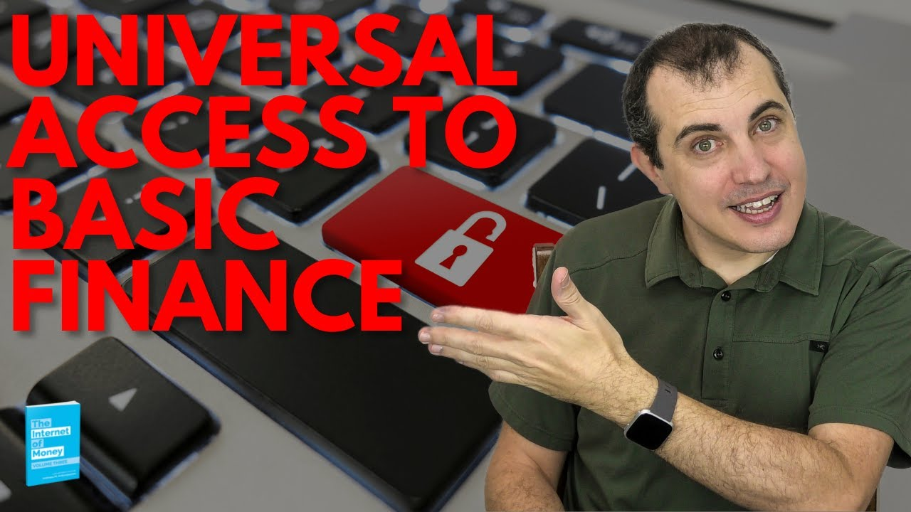 Universal Access to Basic Finance | Andreas M. Antonopoulos