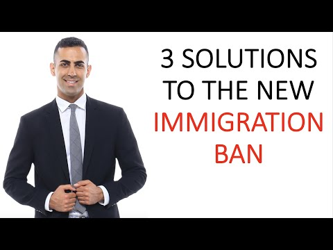 3 Solutions For People Impacted By The New Immigration Ban