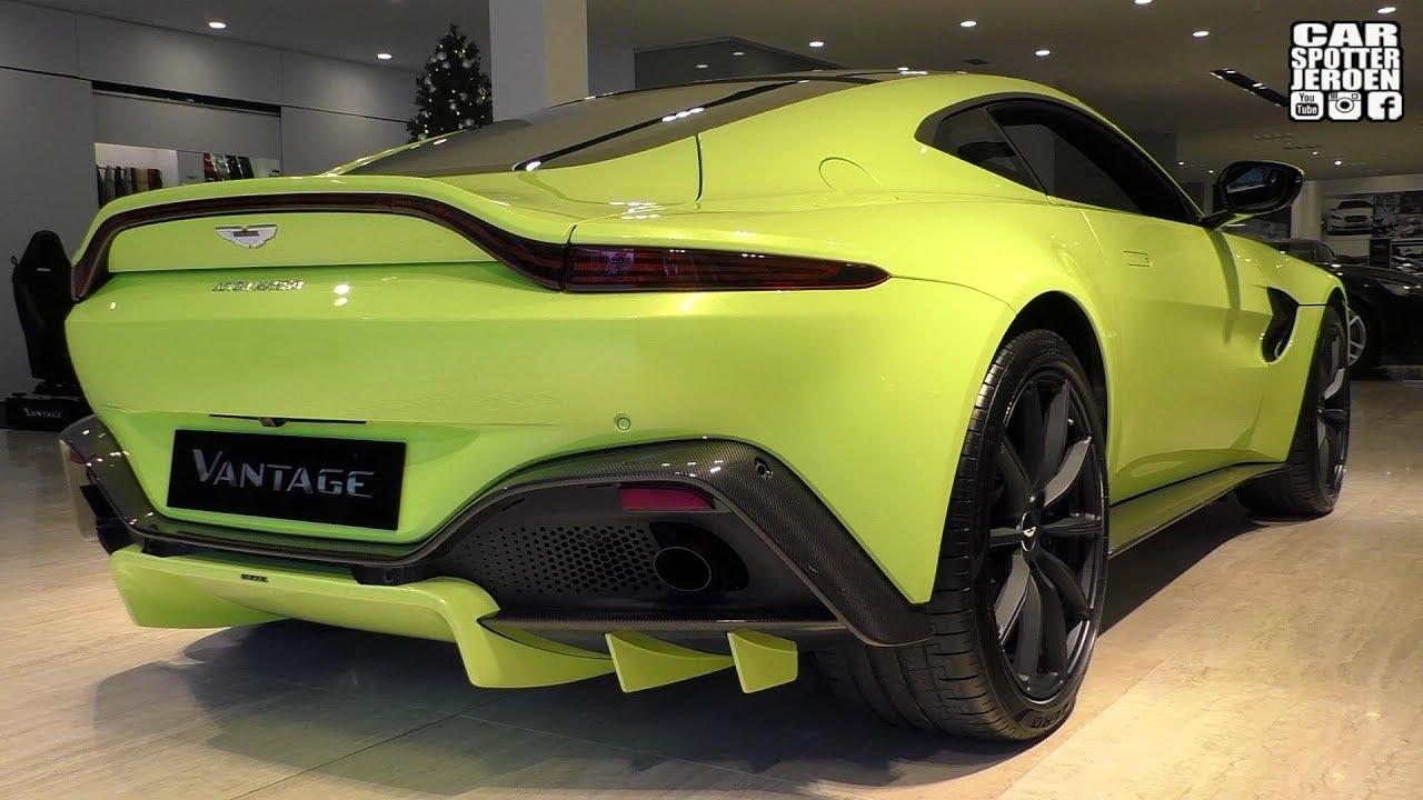 2019 Aston Martin Vantage Walkaround Revs Crackles Youtube