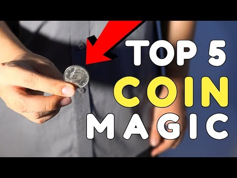 Top 5 EASY Coin Magic Trick Anyone Can Do !!! REVEALED !!!