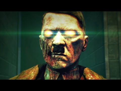 Sniper Elite Zombie Army Trailer (PS4/Xbox One) (Hitler)