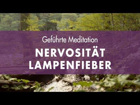 Geführte Meditation gegen Nervosität, Aufregung und Lampenfieber