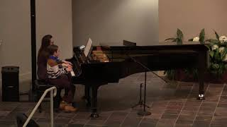 2/20/2021 - Special Music - Lisa and Jadon Scalfani - Faith of Our Fathers