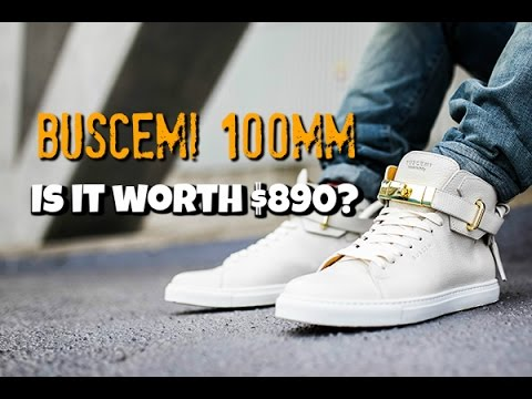 Buscemi 100 MM Review \u0026 Unboxing - YouTube