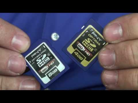 SD vs. SDHC Memory Cards -