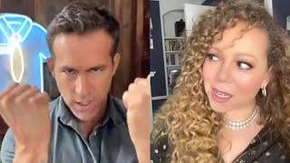 Mariah Carey Gives Ryan Reynolds SIDE EYE During TikTok Duet