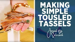Making Tousled Tassel with a Tassel Maker | Jewelry 101