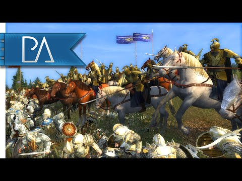 MIDDLE EARTH SMACKDOWN - Third Age Total War Gameplay