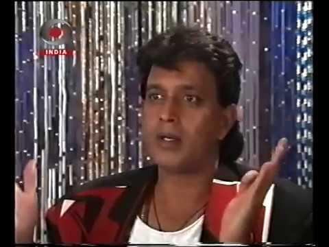 """Mithun in """"Baaje payal"""" 1994"""