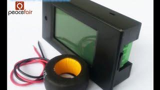 видео Цифровой ваттметр переменного тока