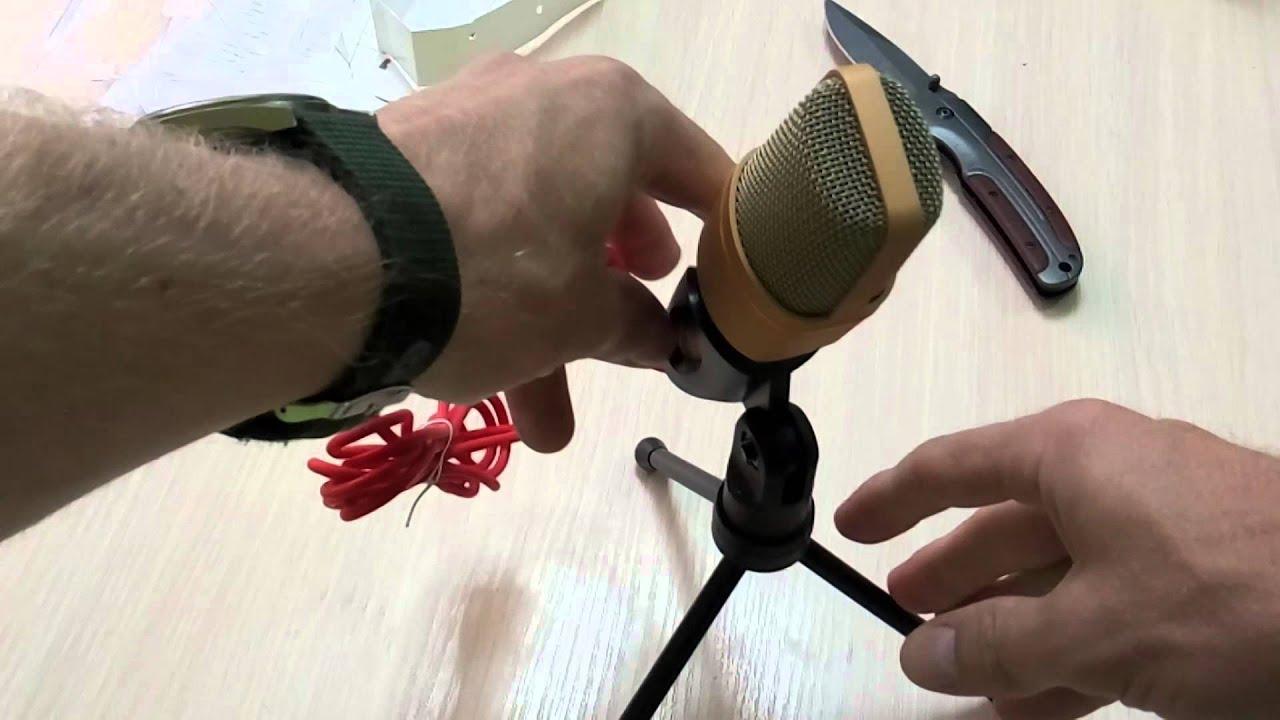 NeW! Качественный петличный микрофон для DSLR своими руками. - YouTube