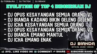 DJ OPUS KESAYANGAN SEMUA ORANG • DJ BIANDA GELENG GELENG • DJ ICHA EMANG ENAK 🎵 DJ FULLBASS TERBARU
