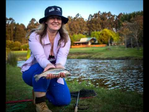 Purple Fly Fishing For Breast Cancer