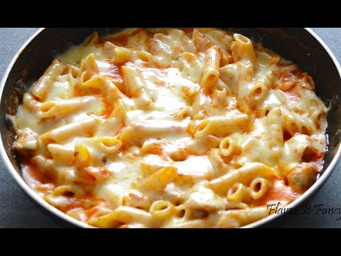 Chicken Cheese Pasta | Chicken Pasta | One Pot Pasta Recipe