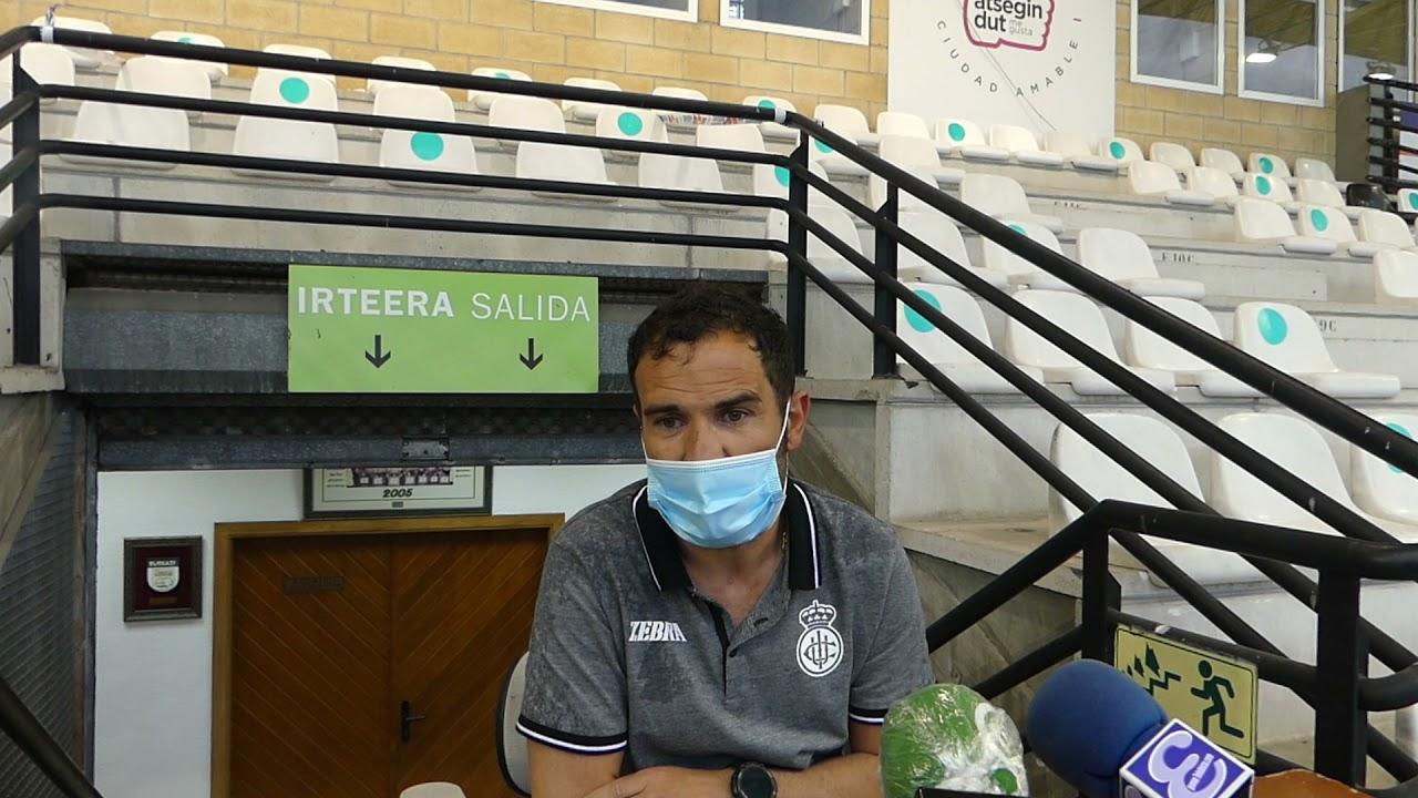 Joseba Aguirre. 6ª jornada 2ª fase, tras el encuentro Real Unión Club-Osasuna Promesas