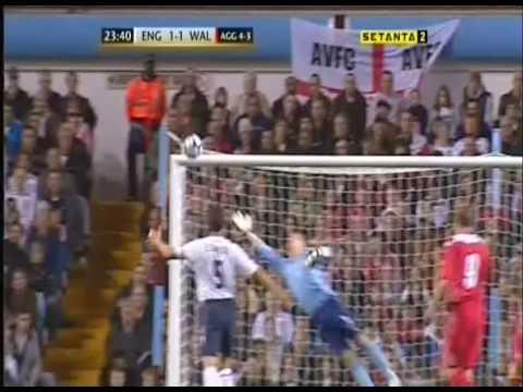 U21 England vs  Wales - Aaron Ramsey goal