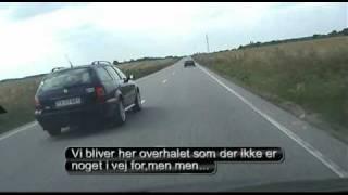 Farlige Bilister på vejen