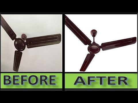 How to Clean Dusty Ceiling Fan in Two Minutes