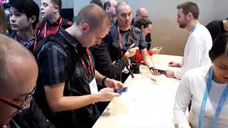 SONY Mobile @ MWC 2018 [booth tour]