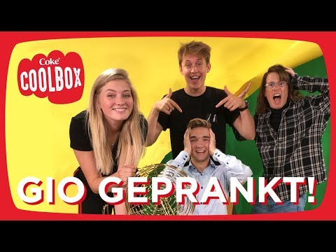GIO LATOOY GEPRANKT tijdens DISASTER SHOOT! - Coolbox #37