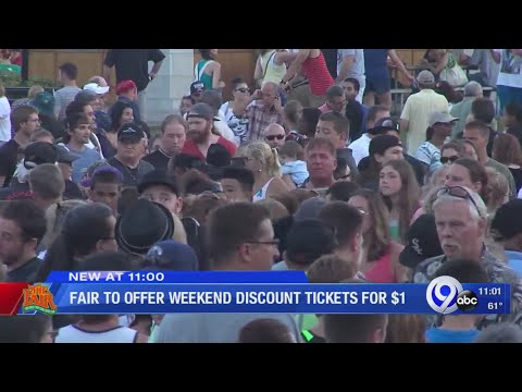 Rich Lauber - Discounted Admission This Weekend At The Great New York State Fair!