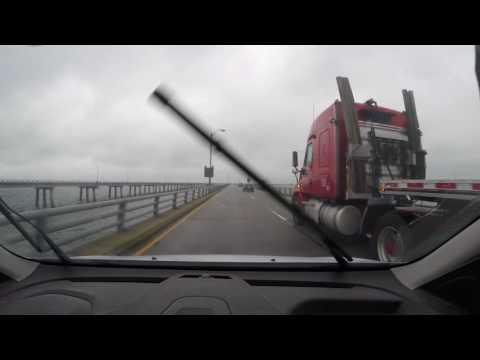 Chesapeake Bay Bridge Tunnel crossing