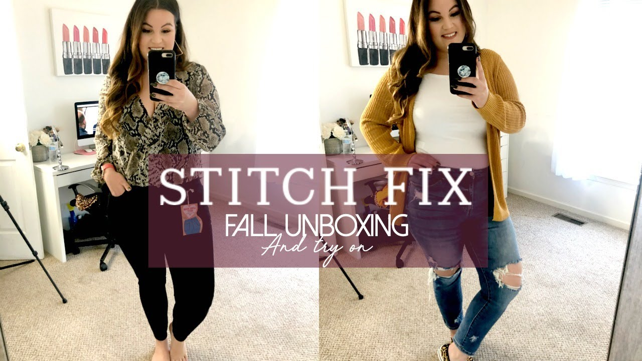 FALL STITCH FIX UNBOXING & TRY ON | Kelly Elizabeth