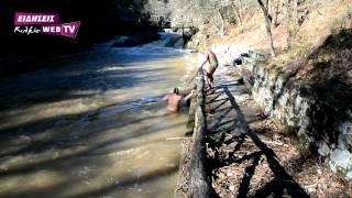 Χειμερινοί κολυμβητές στα ποτάμια  της Γουμένισσας-Eidisis.gr webTV