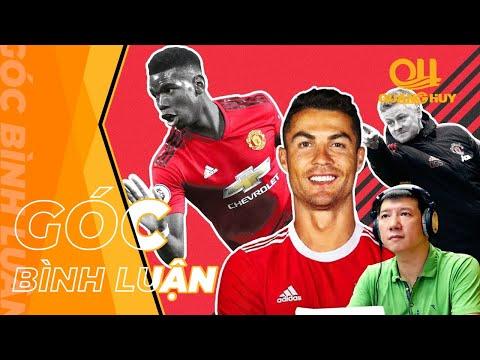 """Ronaldo sẽ bị Pogba """"vượt mặt"""" ở trận đấu thứ 100 của Ole tại Man Utd?   BLV Quang Huy"""