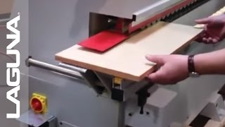 Woodworking - Laguna Tools Edgebander - Demo Video