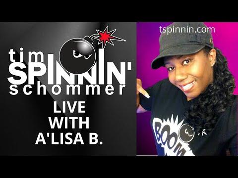 Tim Spinnin Live with A'Lisa B
