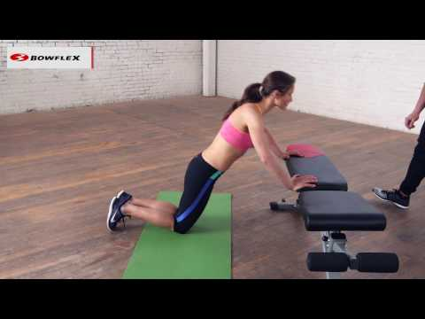 Bowflex® How-To | Push-Ups for Beginners from YouTube · Duration:  1 minutes 50 seconds