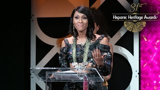 Mj Rodriguez Receives the Trailblazer Award - 31st Hispanic ...