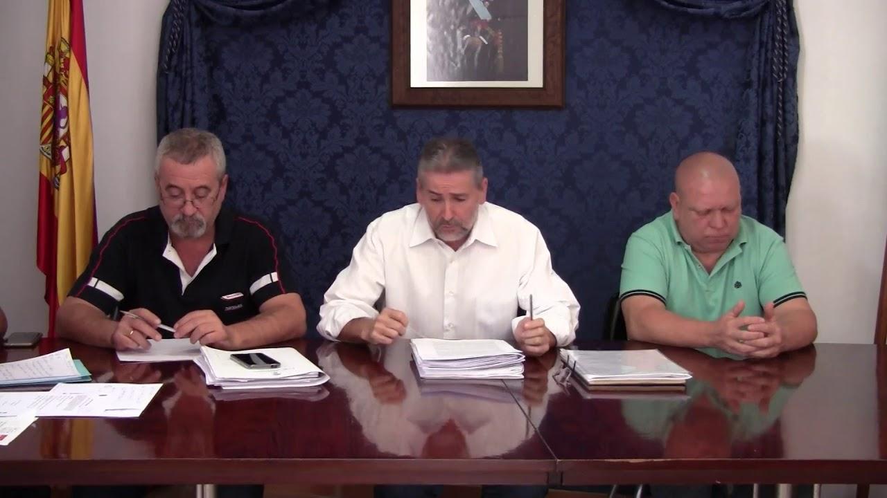 Pleno Montejaque Septiembre 2017