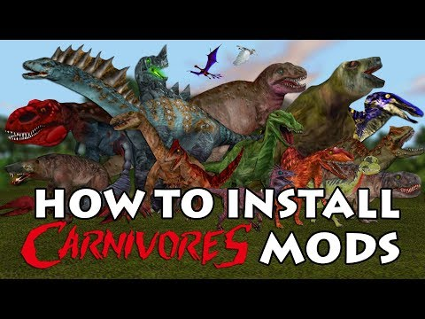 How To Download And Install Carnivores Mods And DLC