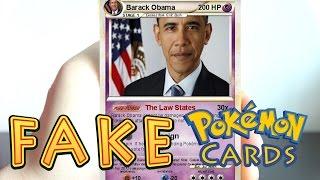 Opening FAKE Pokemon Cards!