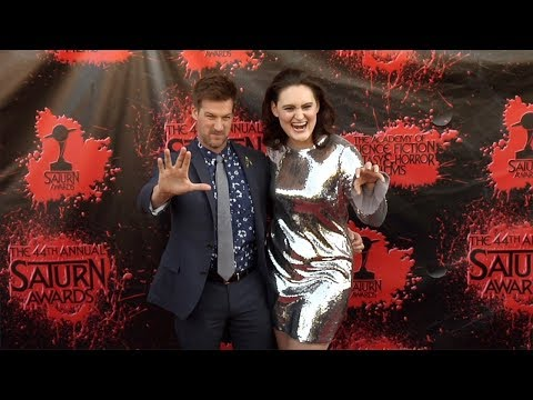 Mary Chieffo and Kenneth Mitchell 2018 Saturn Awards Red Carpet