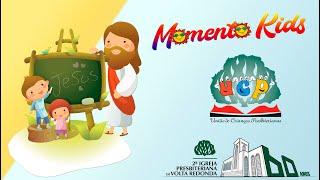 Momento Kids dia 16/05/2020