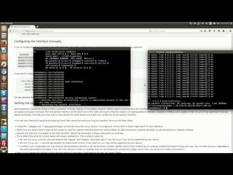 Debian Networking