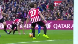 Barcelona vs Athletic Bilbao: 3 - 0 All Goals and Highlights HD (Feb 4, 2017)