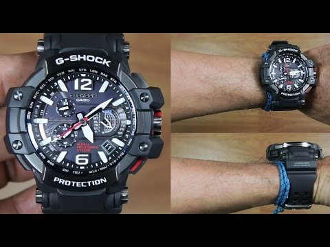 CASIO G-SHOCK GRAVITYMASTER GPW-1000-1A GPS WATCH - UNBOXING