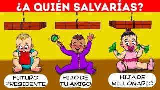 ¡26 PREGUNTAS DURAS Y ENIGMAS FÁCILES QUE TE VOLVERÁN LOCO!